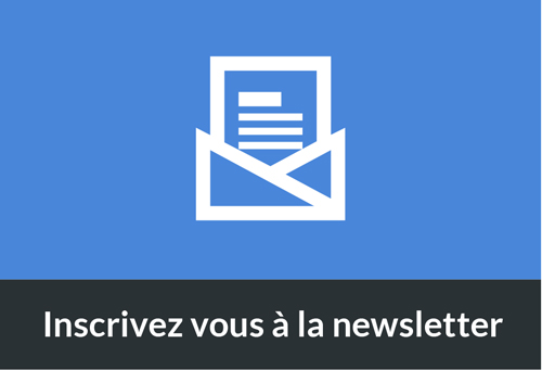 Inscrivez vous à la newsletter